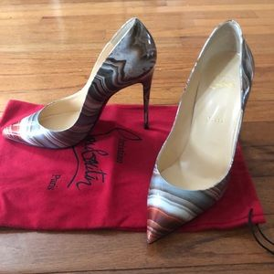 Christian Louboutin size 40 never worn!